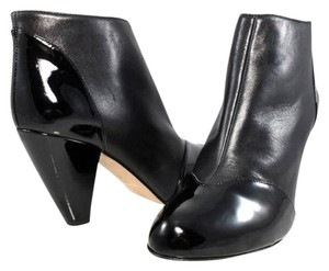 Claudia Ciuti Boot Leather Patent Leather Black Boots