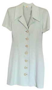 St. John short dress Mint green on Tradesy