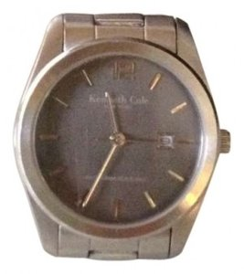 Kenneth Cole Black dial silver watch