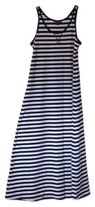 Navy & White Maxi Dress by American Living & Stripe
