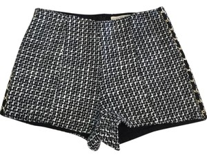 Mustard Seed Dress Shorts Black, white & gray