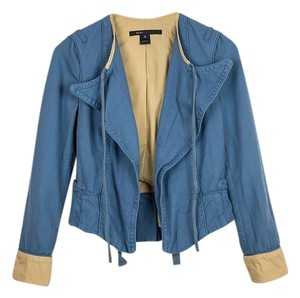 Marc by Marc Jacobs Cotton Tailored Blue Jacket
