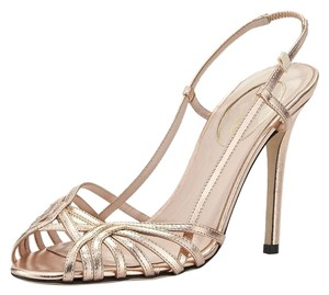 SJP By Sarah Jessica Sophie Rose Gold Sandals