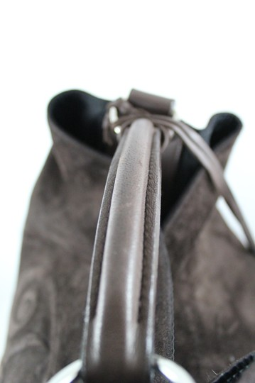 Balenciaga Hobo Suede Designer Handbag Purse Shoulder Bag