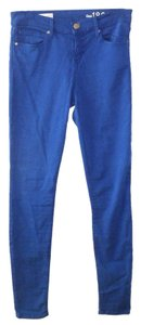 Gap Blue Skinny Legging Cotton Skinny Pants