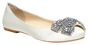 Betsey Johnson Ever Blue Flat Ivory Flats