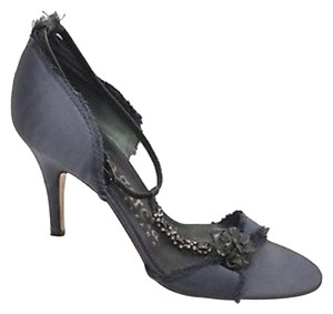 Pedro Garcia Gray Pumps