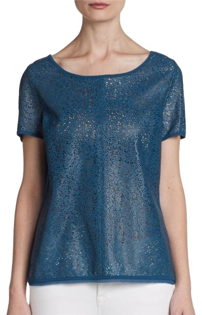 Preload https://img-static.tradesy.com/item/15374437/patterson-j-kincaid-sapphire-blue-pjk-hunter-laser-cut-lambskin-tee-blouse-size-6-s-0-1-650-650.jpg