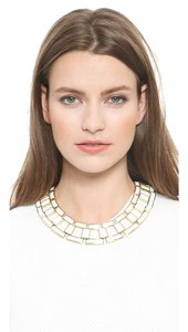 Rachel Zoe Rachel Zoe Eloise Leather Link Collar Necklace