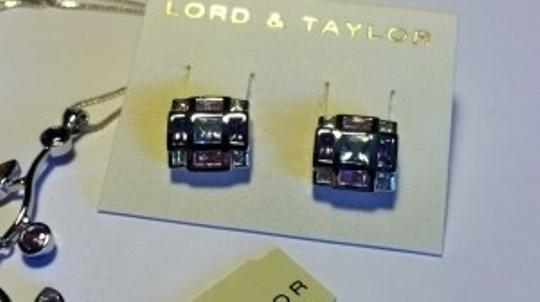 Lord & Taylor Necklace Earrings Set