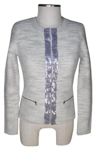 Banana Republic Sequin Merino gray Blazer