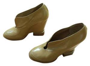 Chloé Leather Urpersonalshoppers Tan Wedges