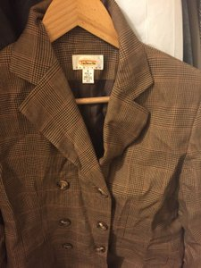 Talbots Plaid Blazer