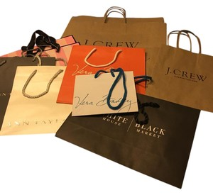 J.Crew Gift bag variety collection