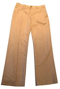 Banana Republic Fitted Classy Lined Camel Trouser Pants Beige