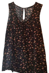 Gap Top Navy with bird motif