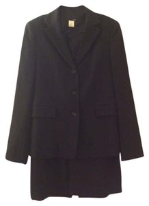 J.Crew J.Crew Black Skirt Suit Size 10