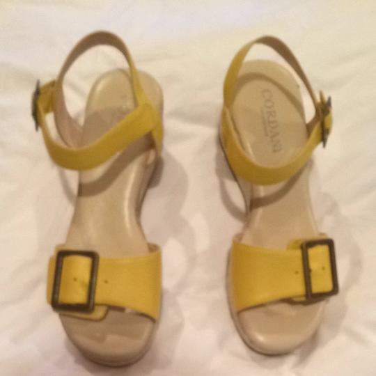 Other Natural And Yellow Sandals