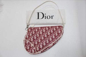 Christian Dior Pochette Mini Saddle Baguette