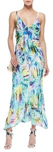 Multicolor Maxi Dress by MILLY Asymmetrical Maxi V-neck Maxi Maxi Maxi Clothings