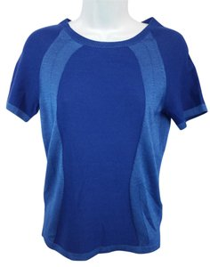 Hugo Boss Blue Knit Top