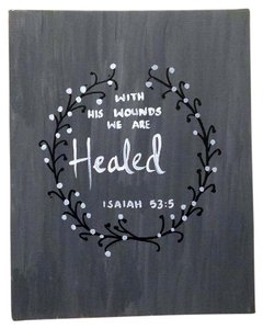 Other Healed - Bible quote