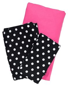 PINK Victoria's Secret Twin XL Sheet Set - Polka Dot