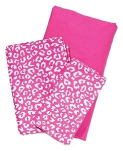 PINK Victoria's Secret Twin XL Sheet Set - Pink Animal