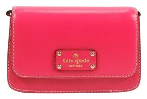 Kate Spade Small Fynn Deep Pink Wellesley Cross Body Bag