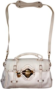 Borbonese Gold Hardware Studded Shoulder Bag