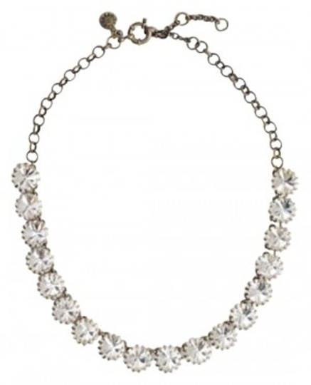 J.Crew Brass-Plated Crystal Necklace J. Crew Factory