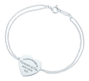 Tiffany & Co. RETURN TO TIFFANY Heart Tag Bracelet 9e3221