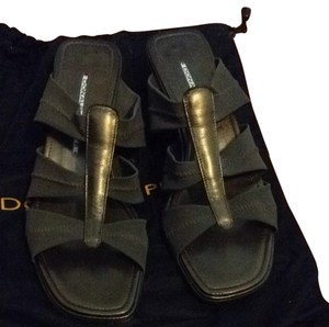 Donald J. Pliner Brown/Bronze Sandals