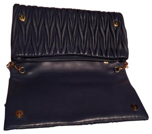 Miu Miu Navy Clutch