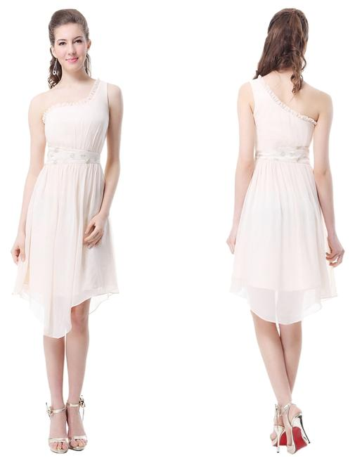 Preload https://img-static.tradesy.com/item/1538097/ever-pretty-dress-beige-1538097-0-0-650-650.jpg
