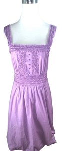 BCBGMAXAZRIA short dress Lilac Poplin on Tradesy