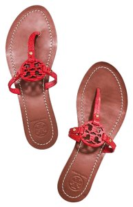 Tory Burch Melon red orange Sandals