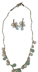 Other Pearl and Crystal Jewelry Set