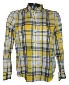 Ralph Lauren Button Down Shirt yellow ,Black,white
