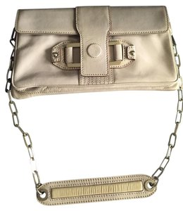 Jill Stuart Patent Leather Silver Hardware Shoulder Bag
