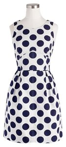 J.Crew short dress Polka Dot Cotton on Tradesy