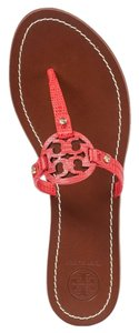 Tory Burch Melon red orange coral Sandals