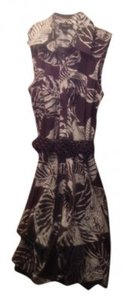 BYER short dress Brown and Cream Above Knee Style #1021g4f on Tradesy