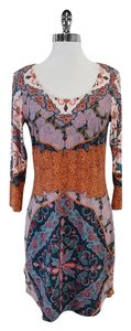 Ali Ro short dress Multi Color Paisley on Tradesy