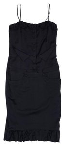 L.A.M.B. short dress Black Spaghetti Strap on Tradesy