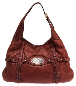Gucci Leather 85th Anniversary Hobo Bag