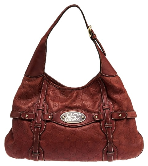 Gucci Guccissima Leather 85th Anniversary Hobo Bag