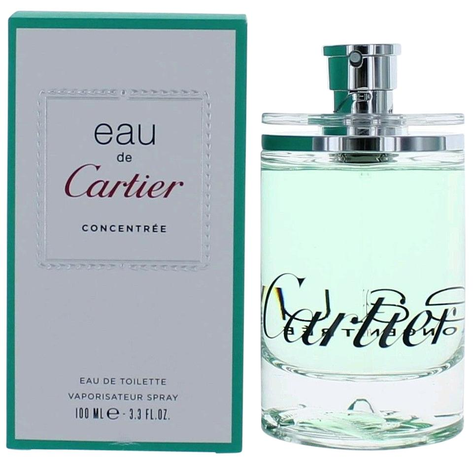 8927ebe2469 Cartier Aqua Blue Eau De Concentree By 3.33 Oz Edt Spray - Unisex New  Fragrance