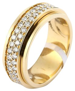 Piaget 18K Yellow Gold Diamond Ring G34PL300 US 6
