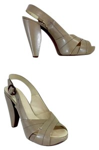 Marc Jacobs Taupe Leather Sahara Sandal Sandals